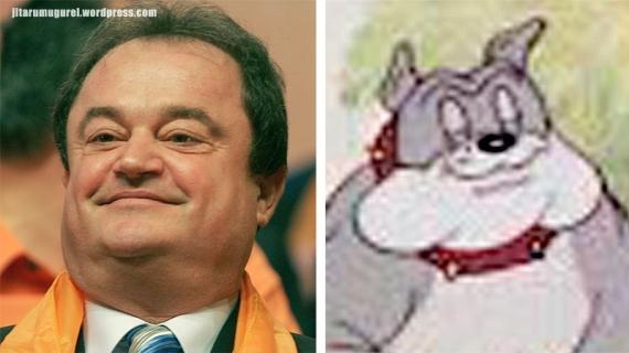 Buldogul din Tom si Jerry-Vasile Blaga