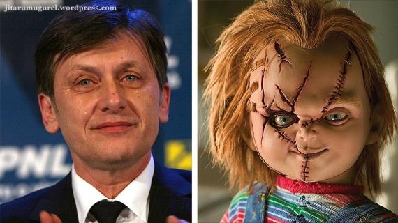 Chucky,papusa ucigasa-Crin Antonescu