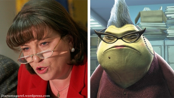 Roz din Monsters Inc.-Norica Nicolai