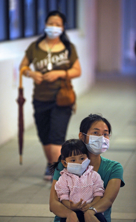 HONG KONG-HEALTH-FLU